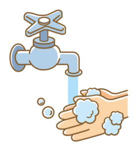 手洗いの中での除菌の考え方